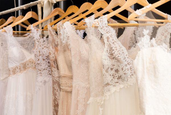 tipos encaje trajes de novia